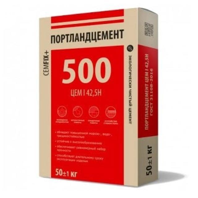 цены на цемент м500 в розницу в москве