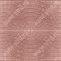 Тротуарная плитка брусчатка квадрат Квадрат 1КД5ф солнышко полный прокрас 40040050 Нобетек