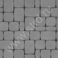 Тротуарная плитка брусчатка наборная разные формы Классика полный прокрас набор на м2 60мм Колдиз