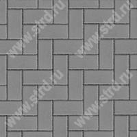 Тротуарная плитка брусчатка кирпичик Престиж Прямоугольник полный прокрас 20010040 BRAER