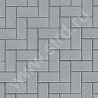 Тротуарная плитка брусчатка кирпичик Брусчатка ЭДД 16 полный прокрас 20010060 Спецбетон